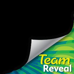 Team Reveal Page Curl template PANDANUS