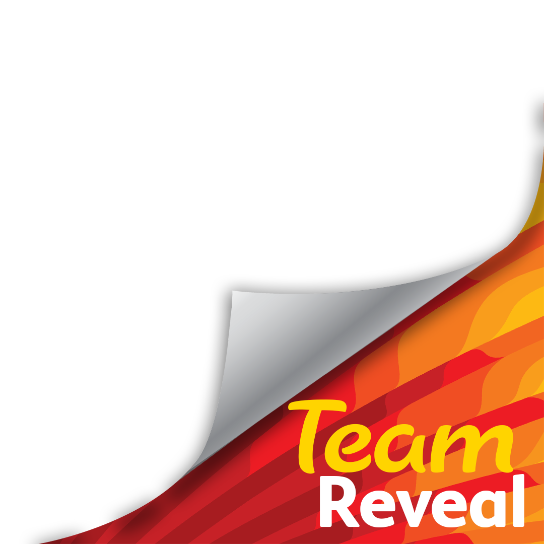 Team Reveal Page Curl template SUN