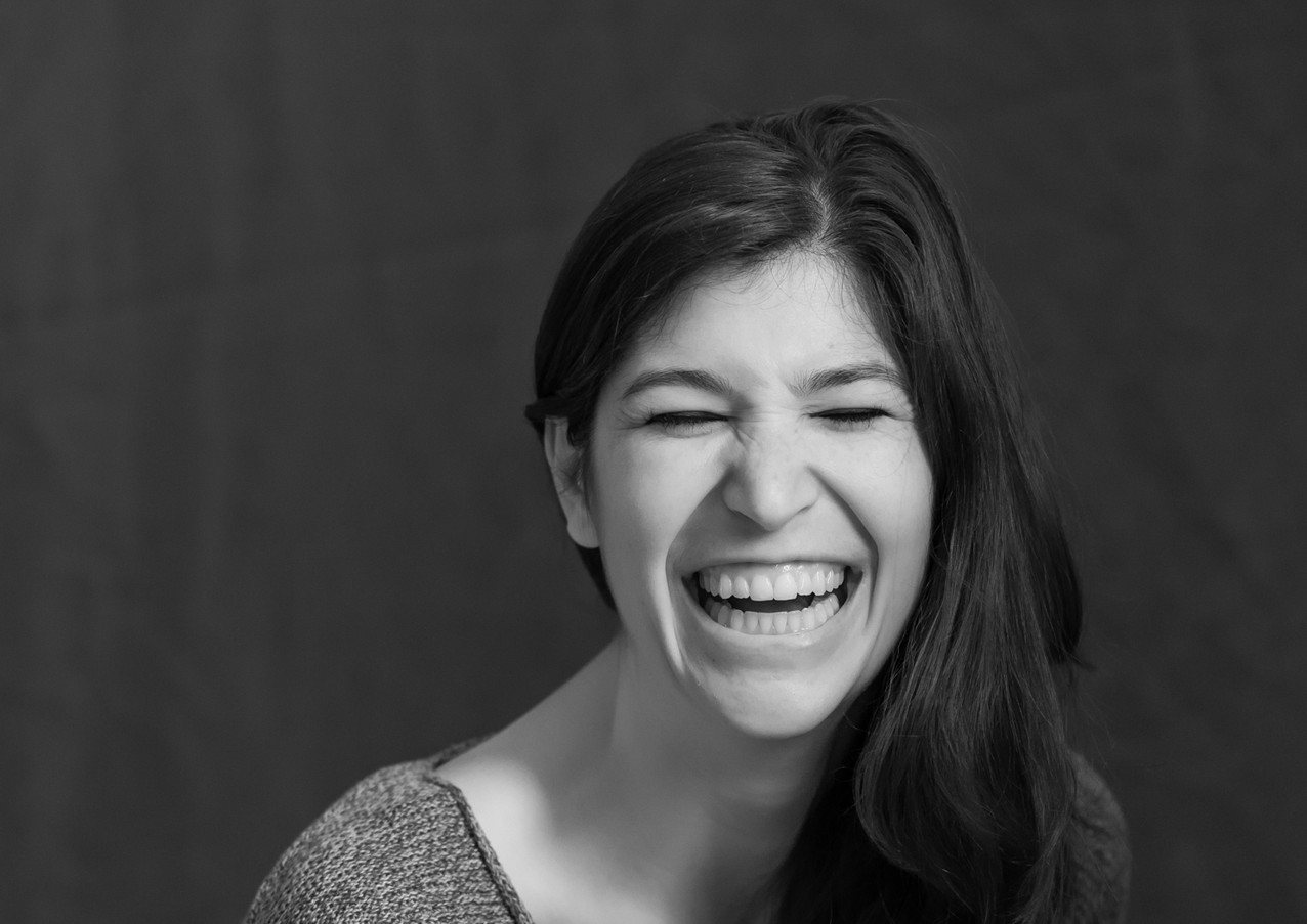 Maggie Howell Laughing