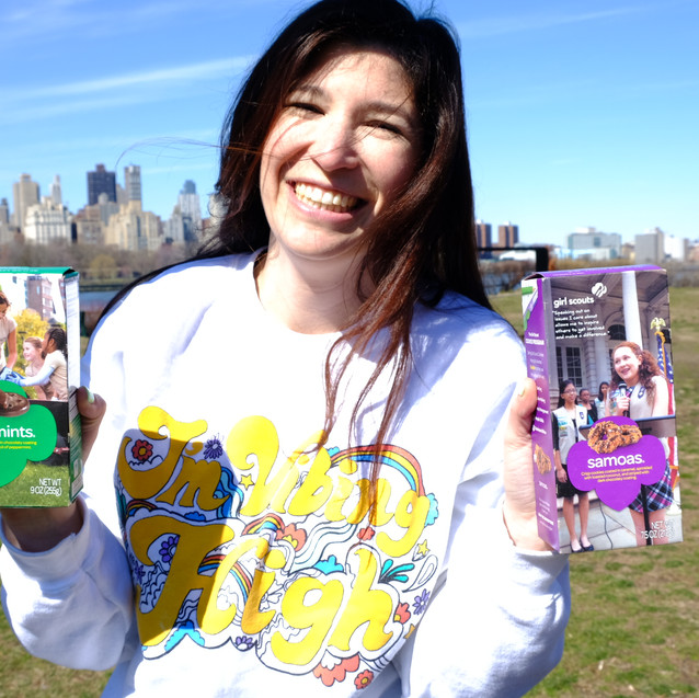 Maggie Howell Girl Scout Cookies