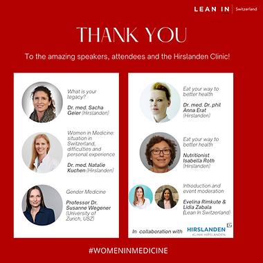 Women in Medicine participants