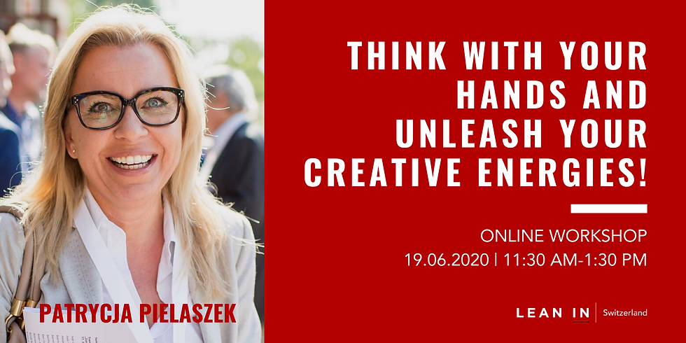 Think with your hands and unleash your creative energies!
