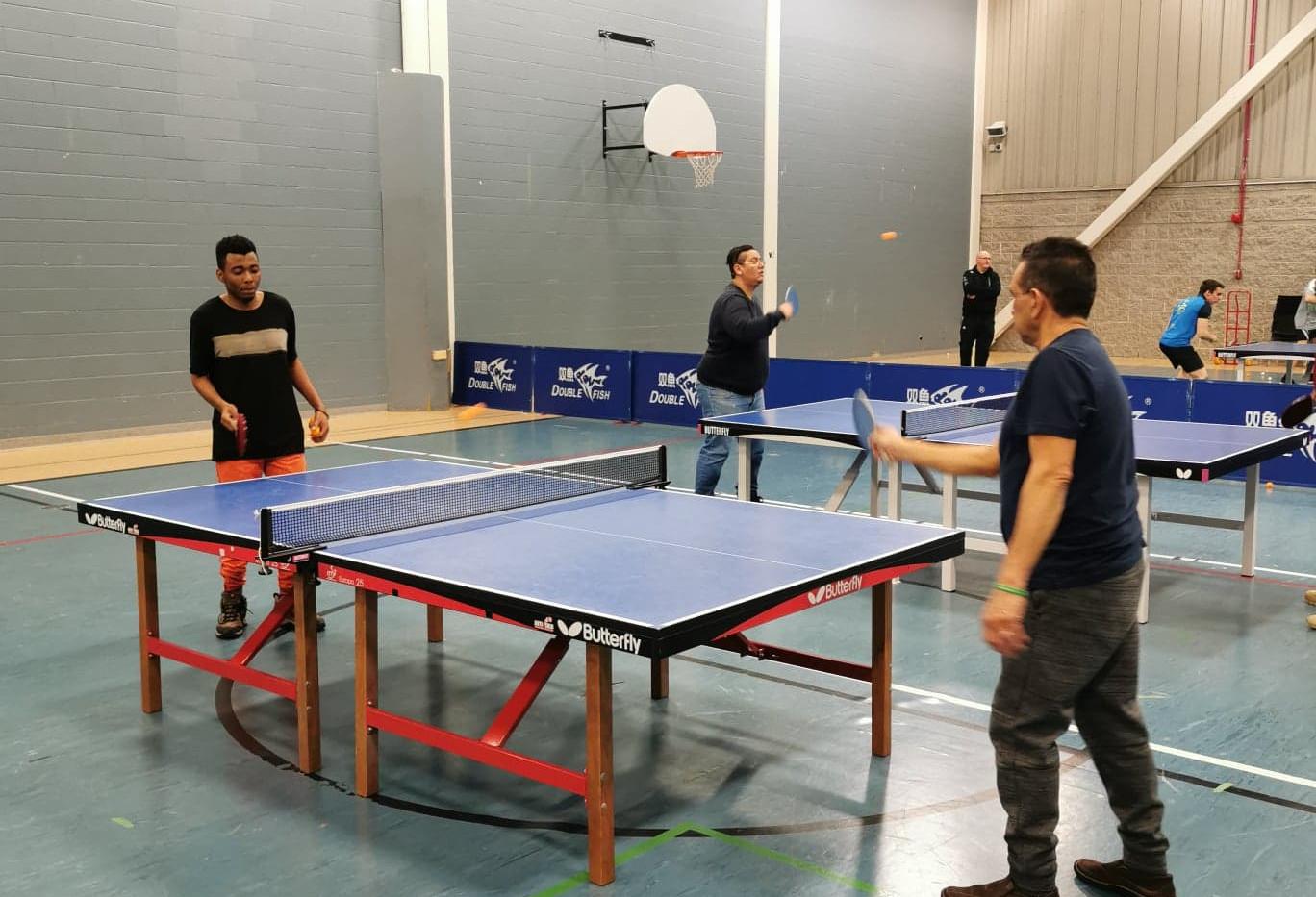 Comité homme, activité Ping-pong
