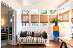 East-facing Sunroom