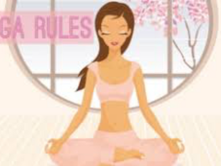 My Top 5 Rules for Yoga
