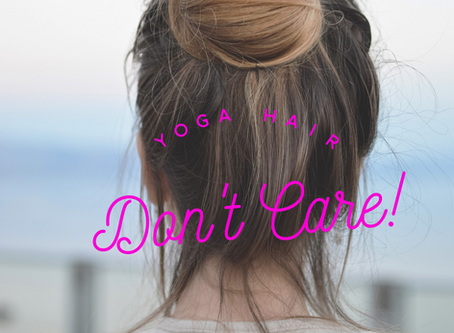 "I want to try yoga, but I don't have the ""right"" clothes!"
