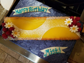 Misti's lemon curd tart
