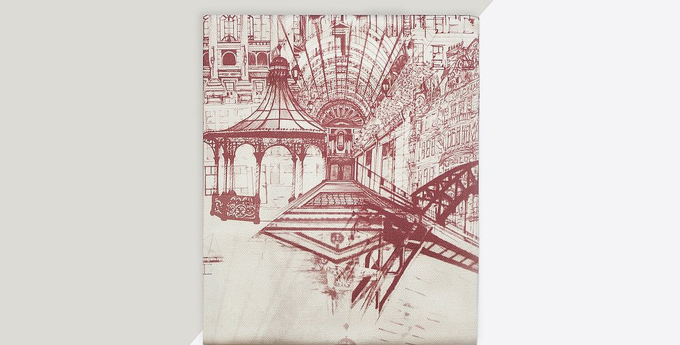 Tea Towel - Newcastle (Pink)