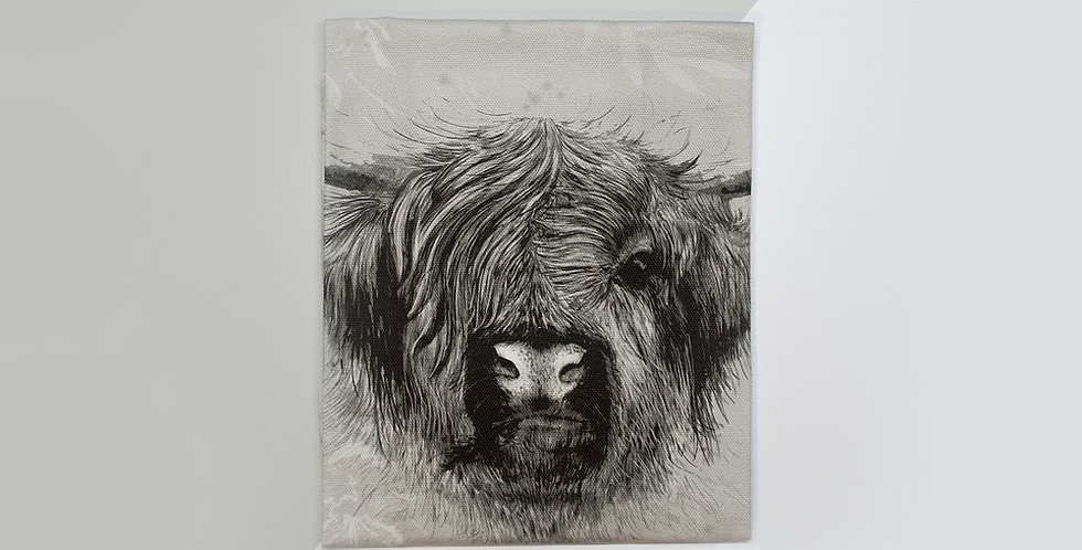 Tea Towel - Highland Cow