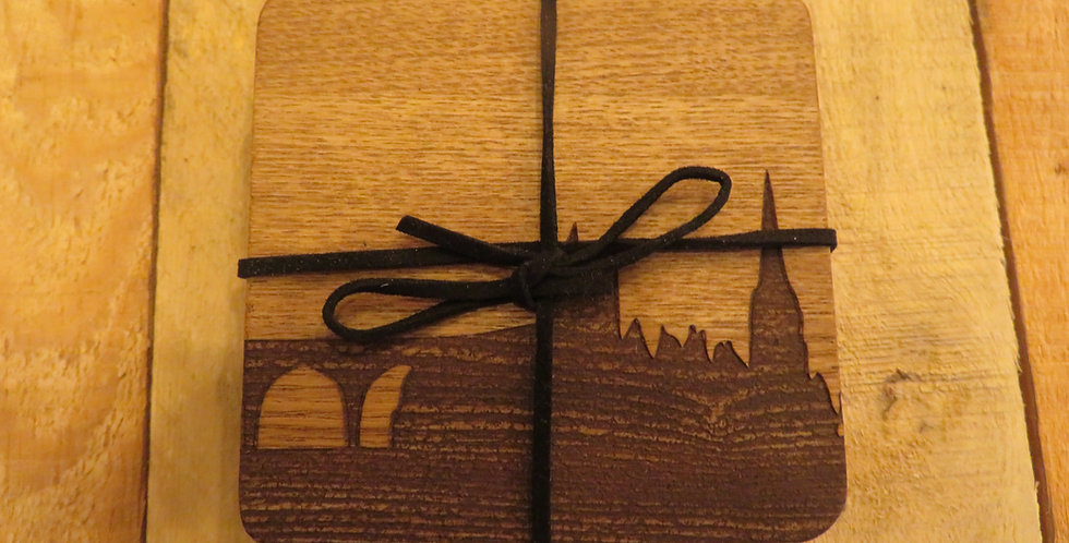 Durham Skyline Coasters - 4 Pack