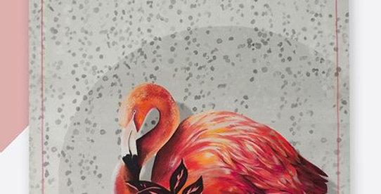 Tea Towel - Flamingo
