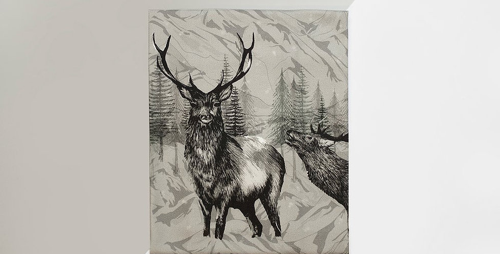 Tea Towel - Highland Deer