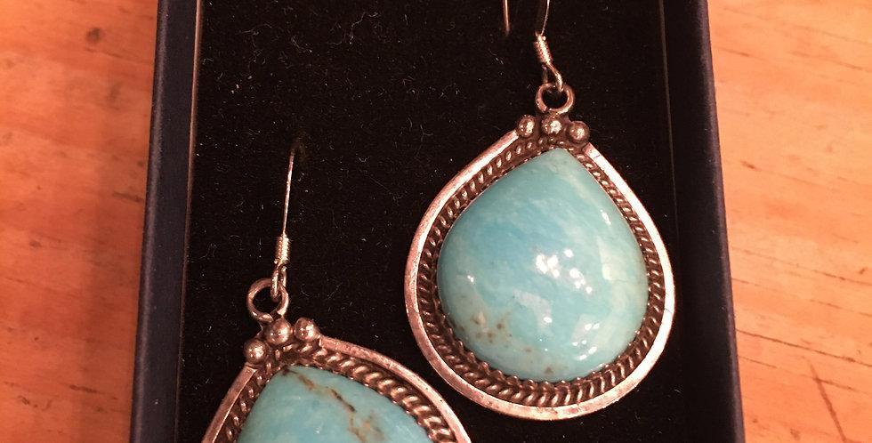 Zuni KingsmanTurquoise Earrings