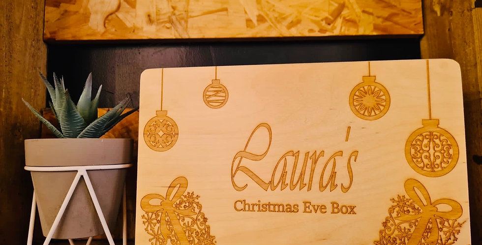 Christmas Eve Box - Baubles and Presents