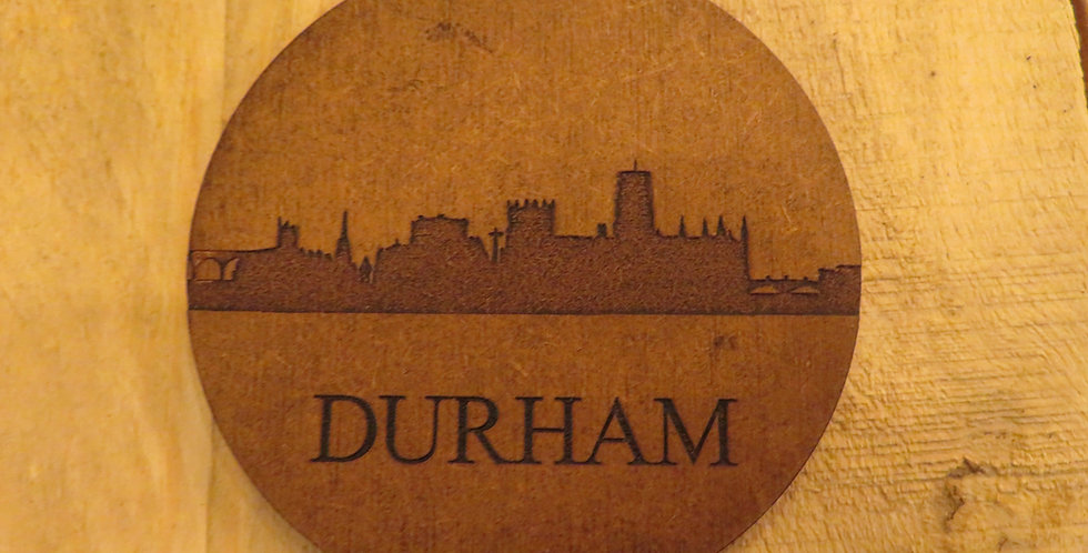 Durham skyline Coaster (single)