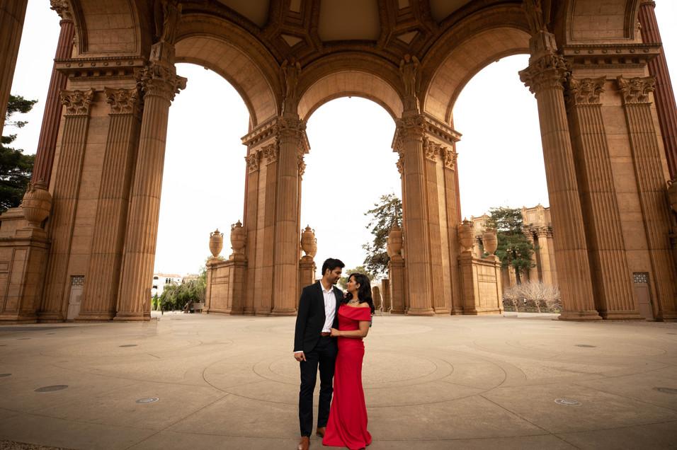 Palace of Fine Arts Engagement shoot-0040