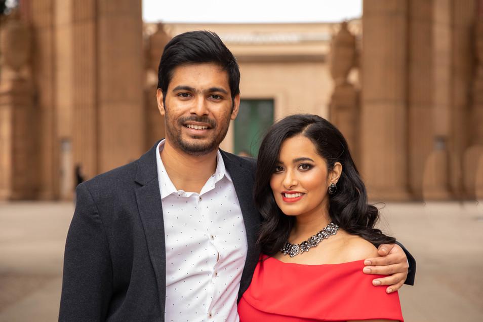 Gayathri & Rohit Engagement photos Palace of Fine Arts-0155