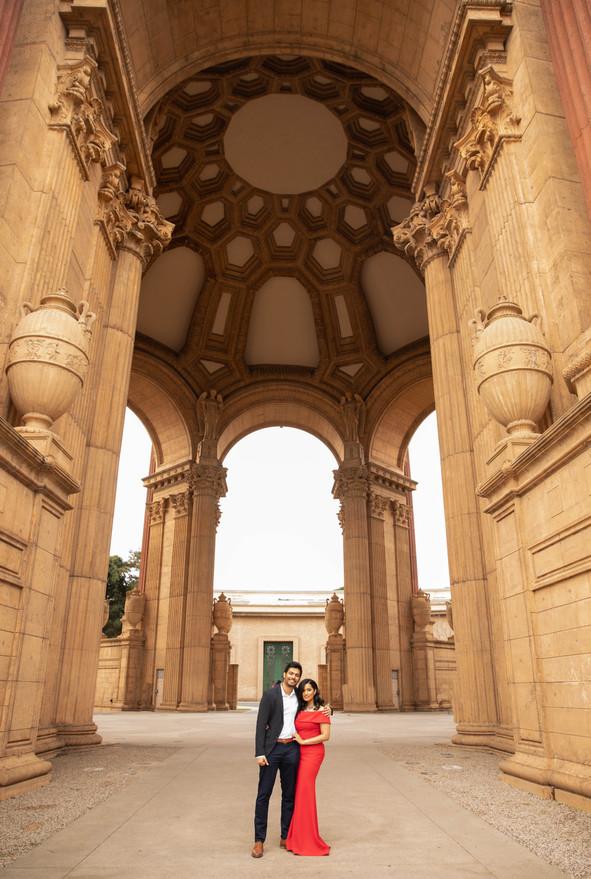 Palace of Fine Arts Engagement Photos