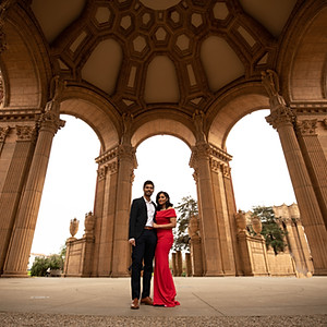 Engagement Palace of Fine Arts