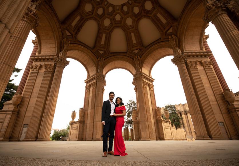 Palace of Fine Arts Engagement shoot-0044