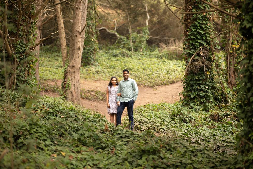 Lands End Trail Engagement Photos