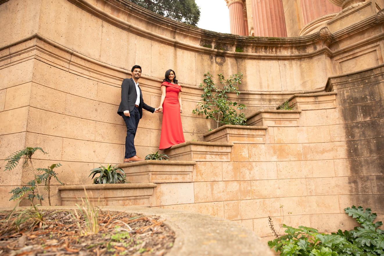 Palace of Fine Arts Engagement shoot-0119