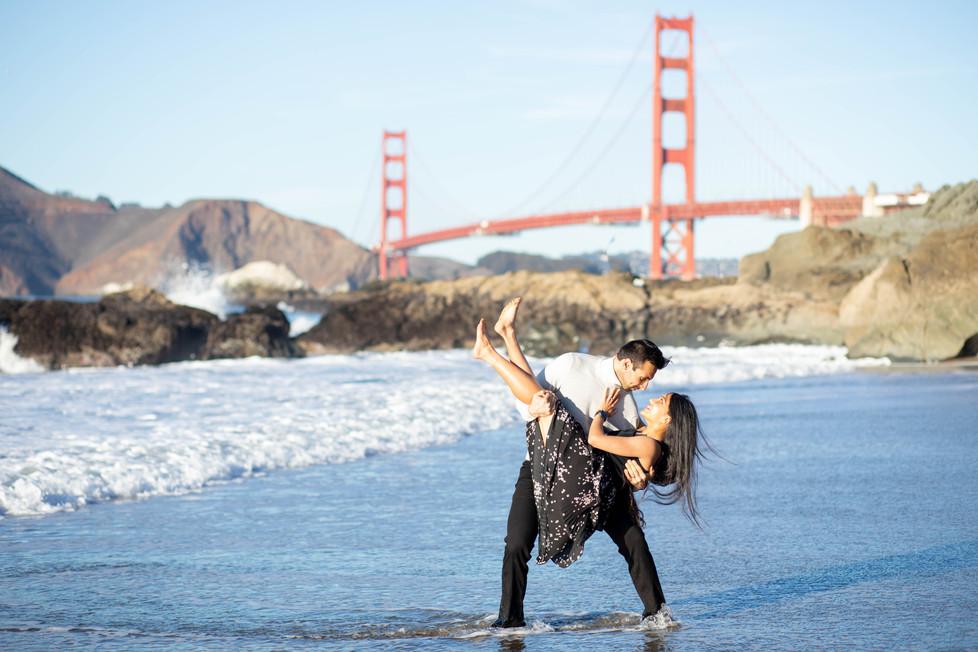 Bakers Beach Pre-wedding Photoshoot