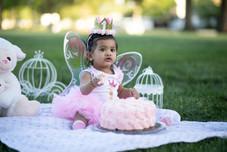 outdoor Cake smash photography