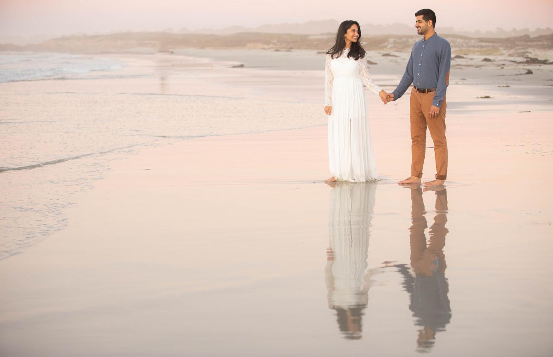 Kaushal & Shivani, Carmel, California