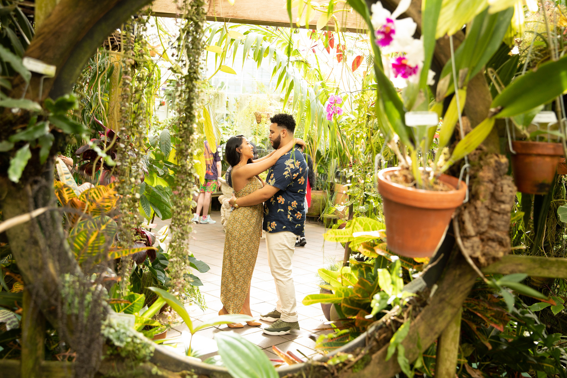 SF Botanical Gardens Engagement session