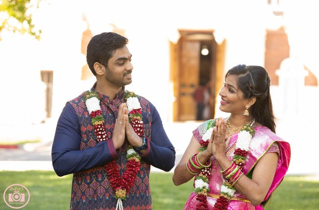 Hindu Engagement ceremony Photographer Livermore Temple