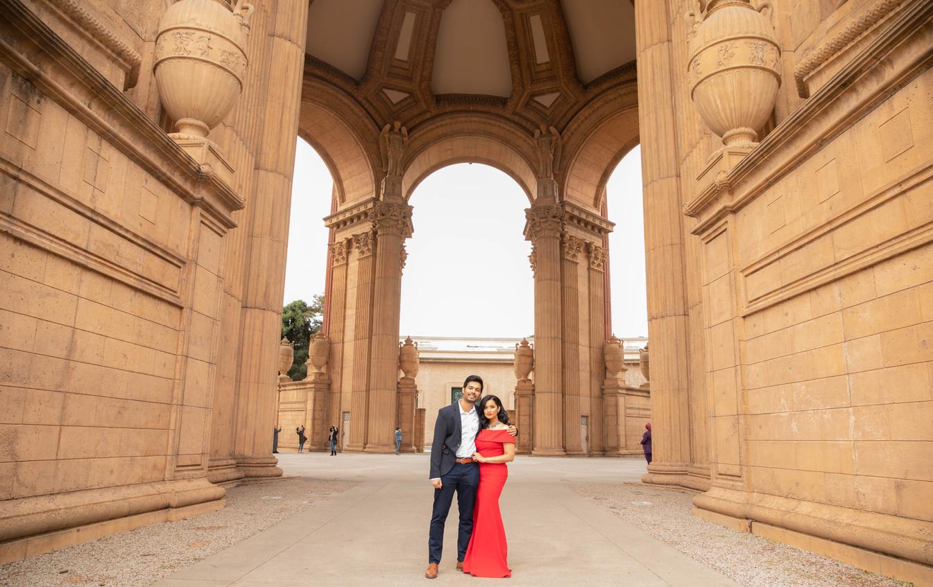 Palace of Fine Arts Engagement shoot-0146