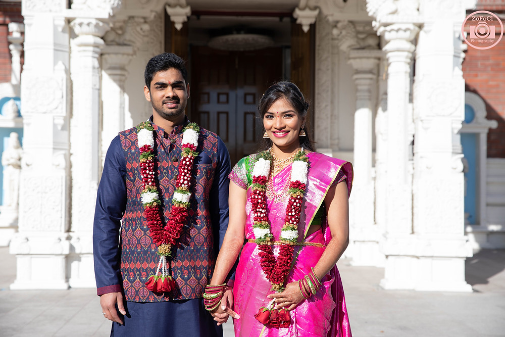Shiva-Vishnu Hindu temple in Livermore. Livermore Temple Engagements & Weddings photography