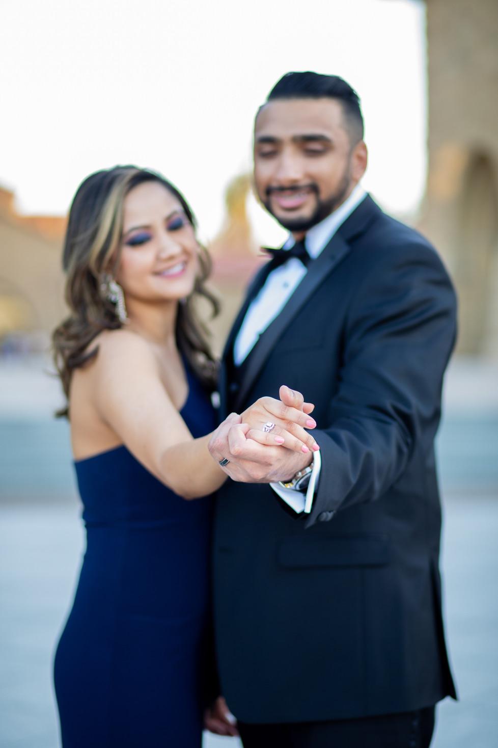 Stanford University Post Wedding Photoshoot
