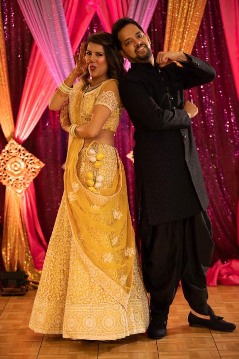 Surbhi & Sylvestor | Sangeet Night in the Garden House, Palo Alto