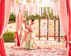 Shivani-Kaushal Napa Wedding