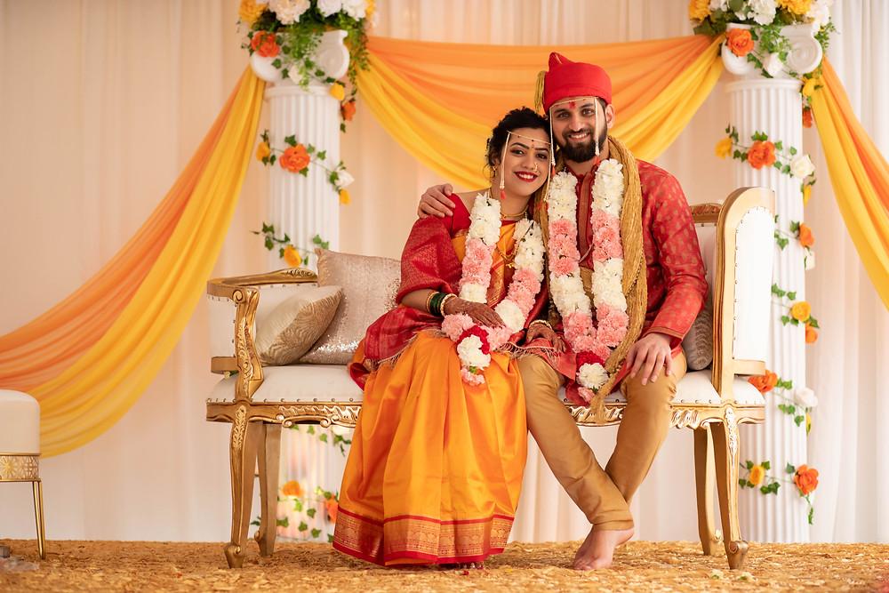 Fremont, California Indian Wedding Photographer, Marathi Wedding