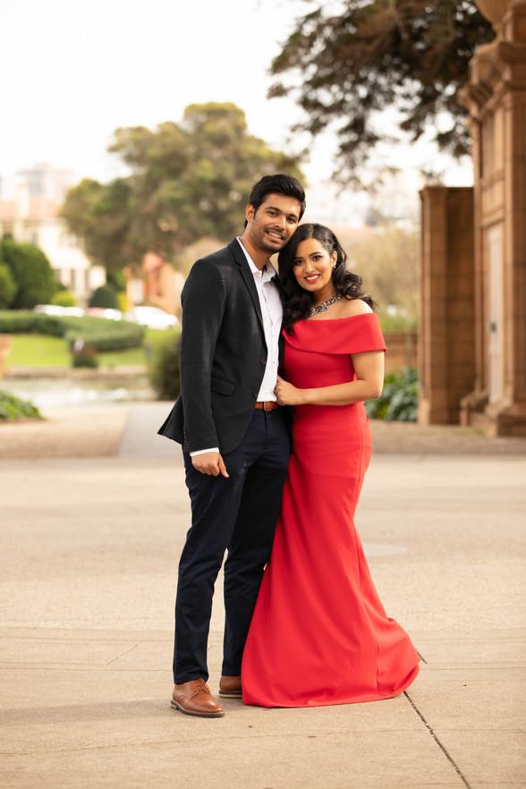 Gayathri & Rohit Engagement photos Palace of Fine Arts-0022