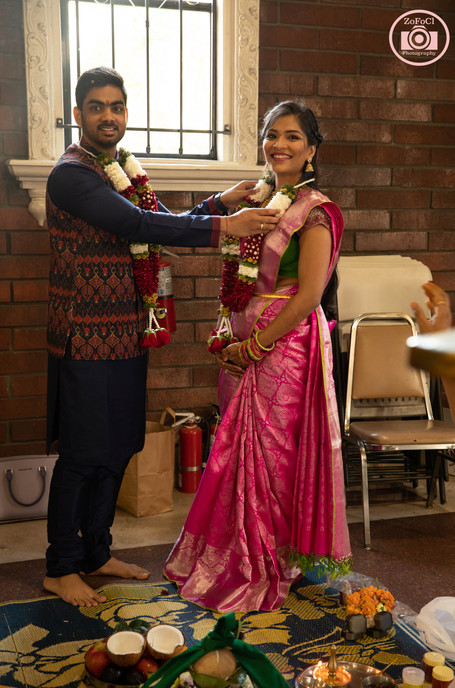 Hindu Engagement ceremony Photography Livermore Temple