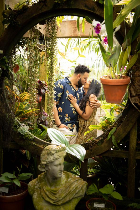 Nate+Jasmin (Conservatory of Flowers)
