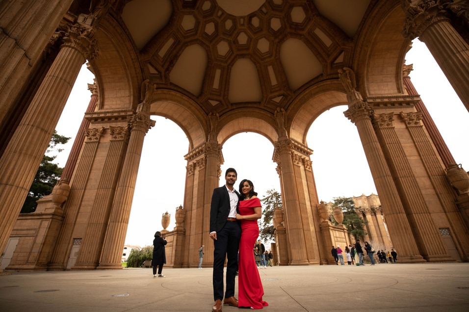 Palace of Fine Arts Engagement shoot-0043