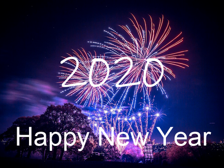 HAPPY NEW YEAR - 2020