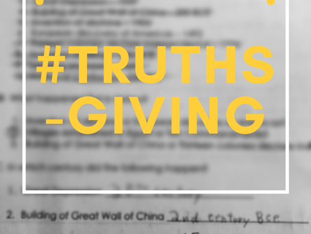 Episode 10: #Truthsgiving