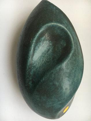 S 118 Kupfergrün-Schwarz matt 1220 - 1250°C