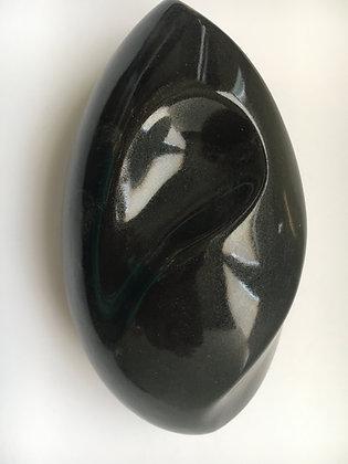710 Schwarz glanz