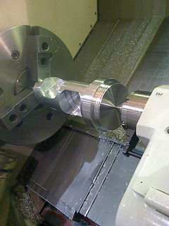 CNC Lathe and 4 Axis Mill