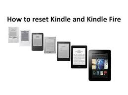 Factory Reset Kindle Fire Tablet