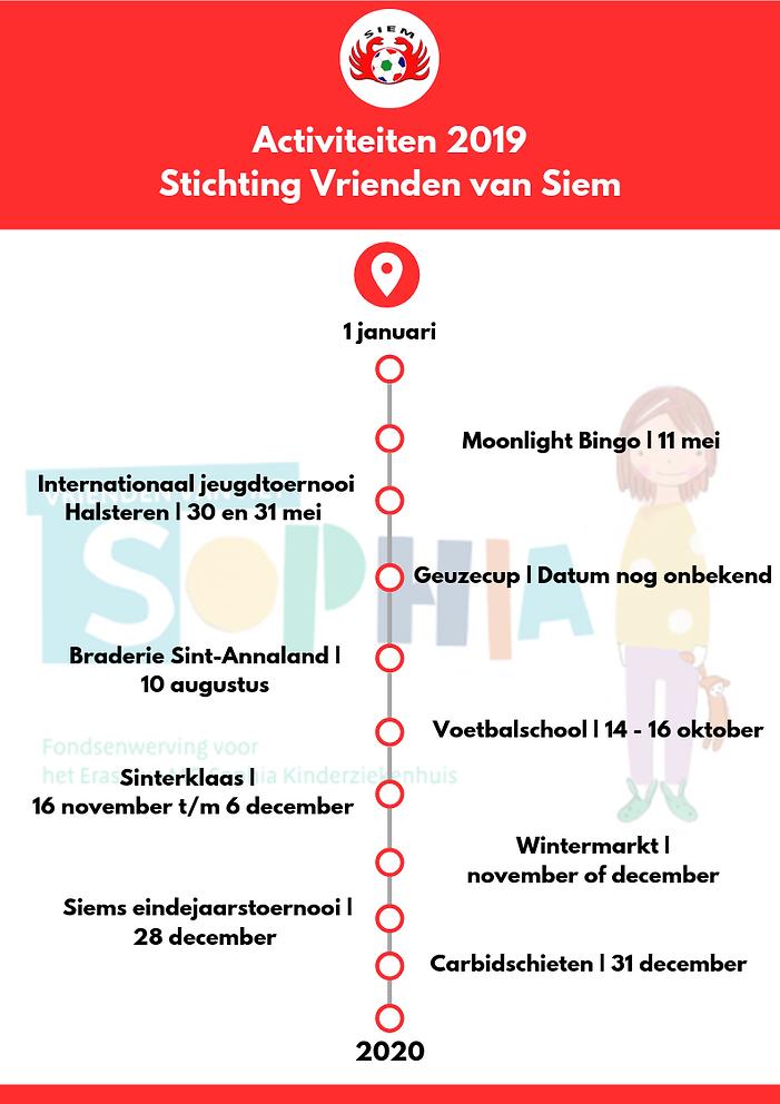 Activiteitenkalender - Stichting Vriende