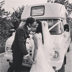 #wedding #weddingdress #Cheshire #suit #specialoccasion #bedfordvan #classic #vintage #classiccars #