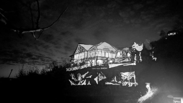 Projection Mapping at Meenabagh